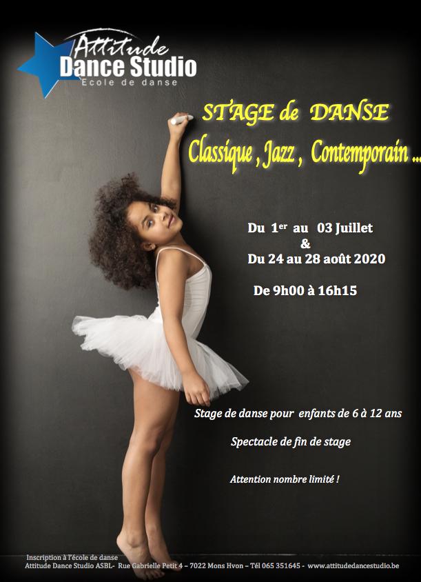 Stage de danse 2020